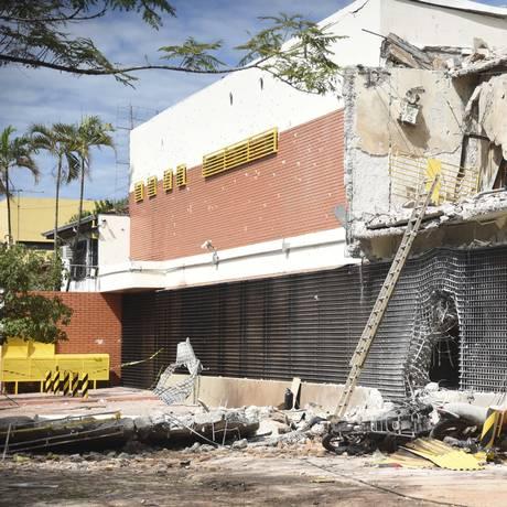 Transportadora de valores no Paraguai foi assaltada por integrantes de facção criminosa de São Paulo Foto: Roberto Zarza/ABC Color / AP