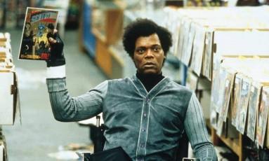 Samuel L. Jackson em 'Corpo fechado' Foto: Divulgação