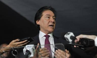 Eunício anuncia que 1º turno da PEC do fim do foro será votado ainda nesta quinta Foto: Agência Senado