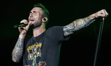 Maroon 5 é uma das atrações do festival, em setembro Foto: Evgenya Novozhenina