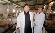 Especialistas avaliam que, embora não ganhasse uma guerra contra EUA e Coreia do Sul, o governo de Kin Jong-Un apostaria no ataque Foto: STR / AFP