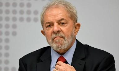 O ex-presidente Luiz Inácio Lula da Silva Foto: AFP