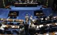O Plenário do Senado Foto: Givaldo Barbosa / Agência O Globo