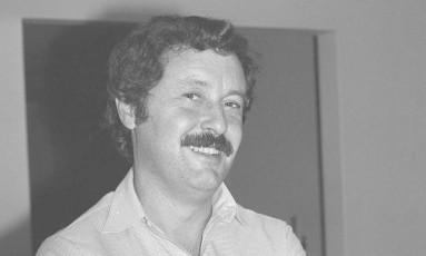 O jornalista Carlos Chagas Foto: Jamil Bittar/22-5-1982