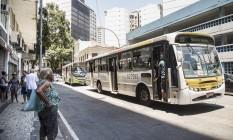 Transporte rodoviário será um dos mais afetados durante greve dessa sexta-feira Foto: Ana Branco / Agência O Globo