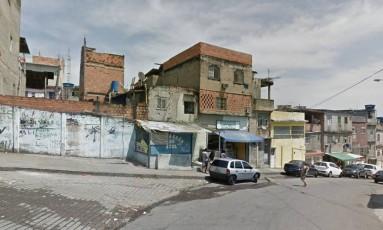 Na Favela do Jacarezinho, um jovem morreu Foto: Google Street View / Reprodução