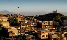 Depois de madrugada tensa, policiais do Bope fizeram operação contra o tráfico no Complexo do Alemão na última terça-feira Foto: Bruno Itan / Parceiro Agência O Globo