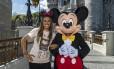 Marta e Mickey Foto: Matt Stroshane