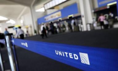 Logo da United Foto: SPENCER PLATT / AFP