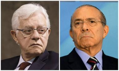 Moreira Franco e Eliseu Padilha estavam na lista de Fachin e serão processados Foto: Montagem sobre fotos da Agência O Globo