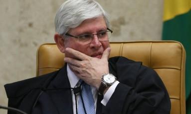 Janot pede intervenção federal no Rio de Janeiro Foto: ANDRE COELHO / Agência O Globo