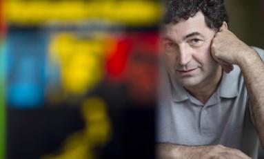 Paulo Cesar de Araújo, autor da biografia censurada de Roberto Carlos Foto: Leo Martins / Agência O Globo
