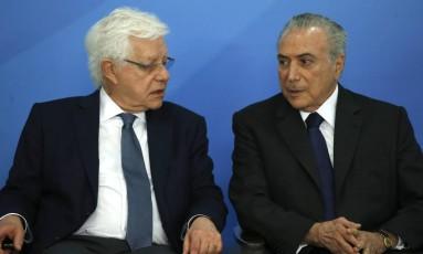 Moreira Franco, junto com Kassab e Eliseu Padilha, são os ministros de Temer que estão sendo investigados. Foto: Jorge William / Agência O Globo / 29-11-2016