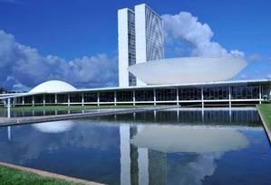 A fachada do Congresso Nacional Foto: Câmara dos Deputados/Divulgação