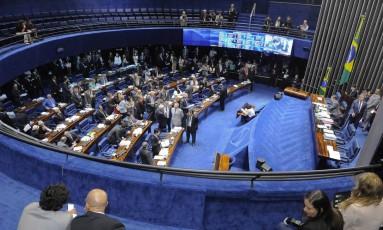 O plenário do Senado Federal Foto: Waldemir Barreto / Agência Senado