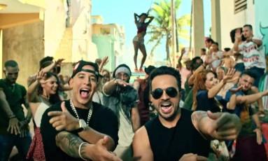 Daddy Yankee e Luis Fonsi no clipe de 'Despacito' Foto: Reprodução
