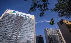 Sede dos Correios em Brasília. Foto: André Coelho/Agência o Globo