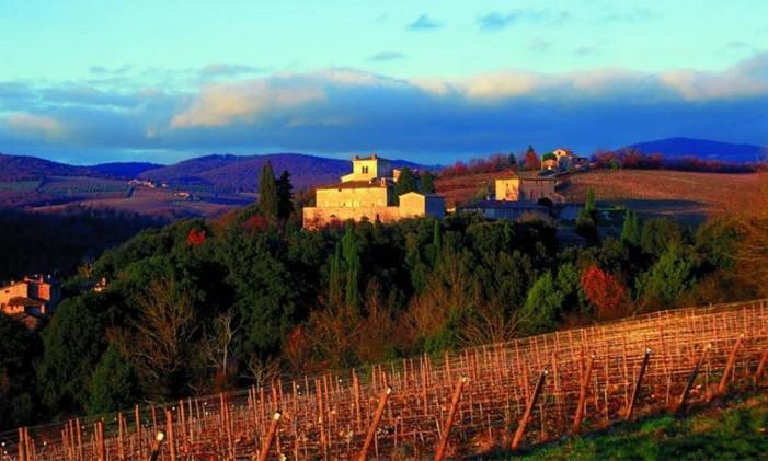 Toscana: clássico italiano Foto: Enit/Divulgação