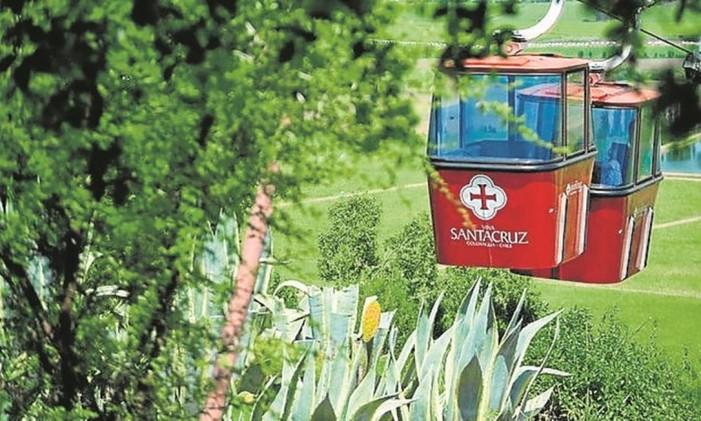 Teleférico no Chile Foto: Jaime Borquez/Divulgação