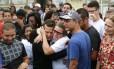 Emocionada, Tereza Gonçalves criticou abordagem da PM em operações em favelas Foto: Márcio Alves / Agência O Globo