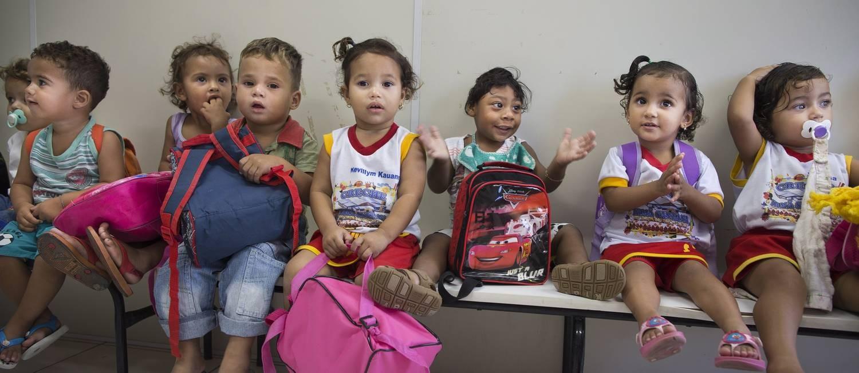 Crianças vítimas do Zika Foto: Márcia Foletto / Agência O Globo
