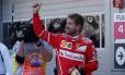 Pole position no GP da Rússia será a 47ª da carreira de Sebastian Vettel Foto: MAXIM SHEMETOV / REUTERS
