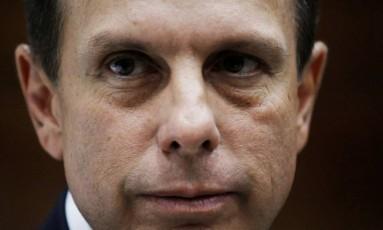 O prefeito de São Paulo, João Doria Foto: NACHO DOCE / Nacho Doce/Agência O Globo