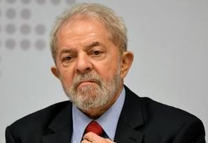 O ex-presidente Luiz Inácio Lula da Silva Foto: EVARISTO SA / AFP