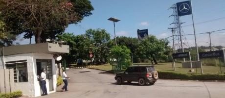 PA Endereço da concessionária Mercedes Benz MinasMáquinas, endereço onde Oswaldo Borges da Costa, tesoureiro de Aécio Neves, teria recebido propina da Odebrecht Foto: Agência O Globo