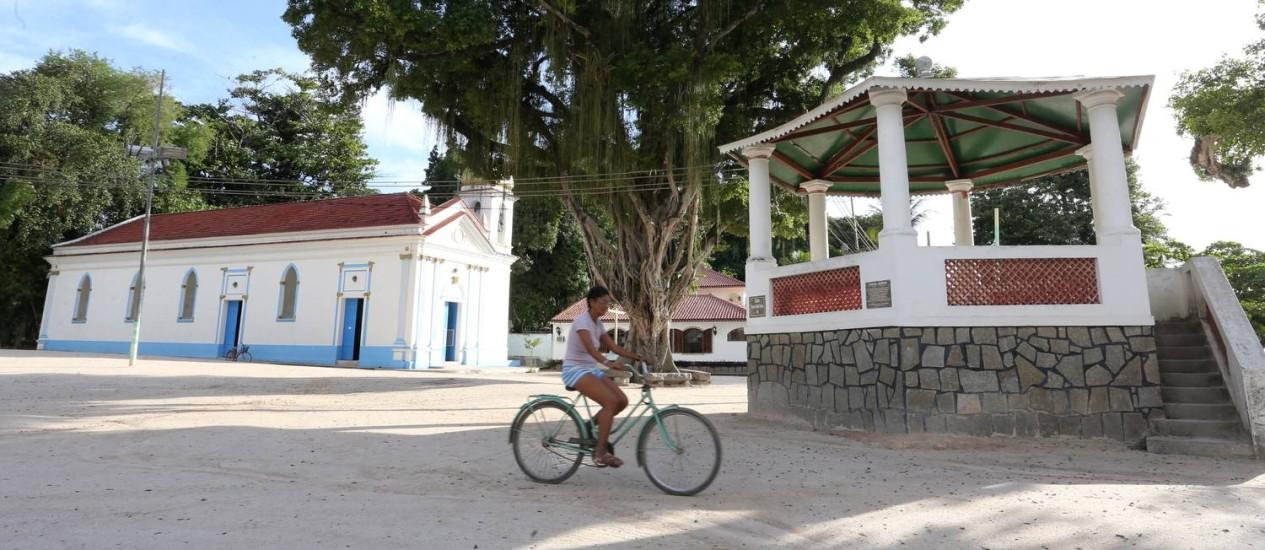 Pacata. Ilha tem atraído cariocas interessados em abrir negócios no local Foto: Guilherme Pinto / Agência O Globo