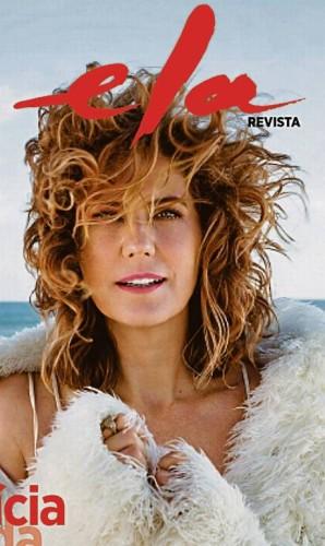Com projeto gráfico arrojado, estreia Domingo que vem a 'Ela Revista' Foto: Reprodução