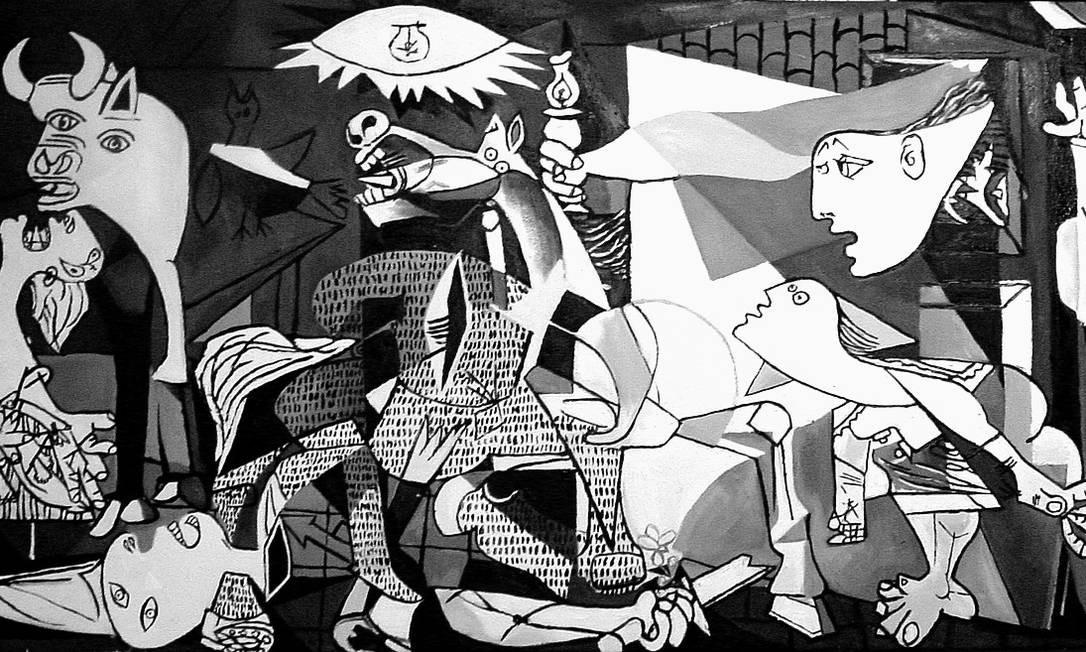 Ha 80 Anos Pablo Picasso Comecava A Pintar Guernica Jornal O