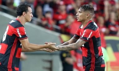 Damião substituiu Guerrero no segundo tempo Foto: Marcelo Theobald