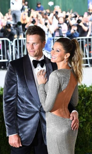 Gisele e Tom Brady brilham no Met Gala 2017 - Jornal O Globo