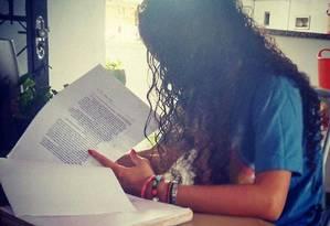 Clarissa Martinez, de 17 anos, estudante da IFRJ e moradora da Maré Foto: Arquivo pessoal