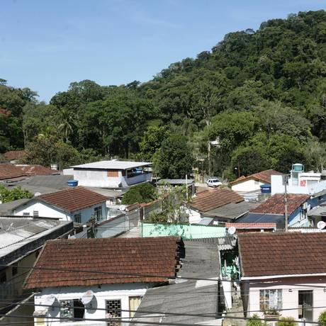 Casas na região do Horto, no Jardim Botânico Foto: Márcio Alves / Agência O Globo
