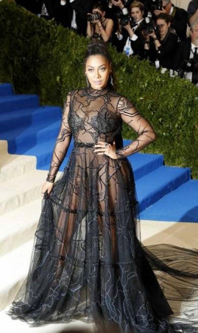 Apresentadora, atriz e empresária,La La Anthony caprichou na transparência LUCAS JACKSON / REUTERS