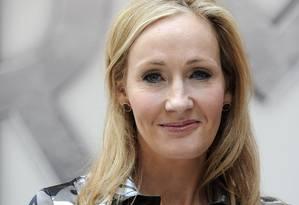 A autora de da saga de Harry Potter, J.K. Rowling Foto: CARL COURT / Divulgação
