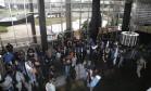 Agentes penitenciários invadem o Ministério da Justiça em protesto contra reforma da Previdência Foto: Ailton Freitas / Agência O Globo
