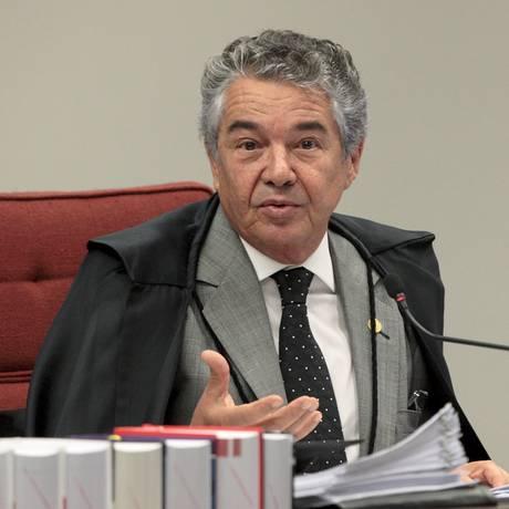 Ministro Marco Aurélio Mello ainda não tomou nenhuma decisão sobre ação que pode aumentar receitas dos royalties Foto: Carlos Mora - 18/04/2017