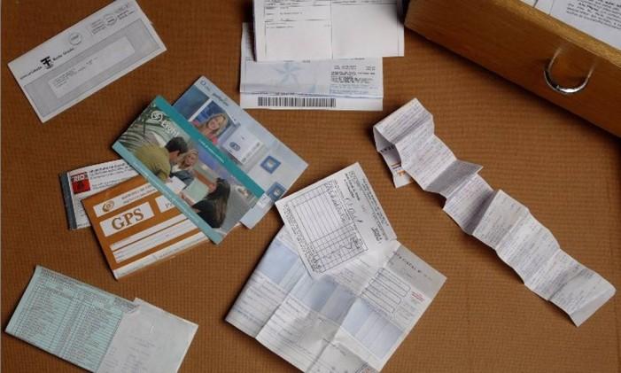 Contas e boletos Foto: Arquivo