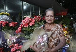 Tradicional. Cineida Lopes foi uma das incentivadoras da formação da Rua das Flores, criada em 1993 Foto: Fábio Guimarães / fábio guimarães