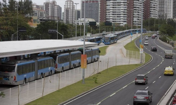 Metrô do Recreio partiria do Jardim Oceânico Foto: Márcia Foletto/ O Globo
