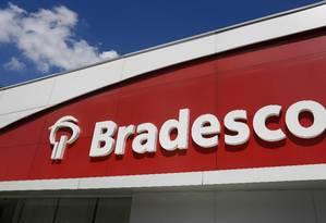 Logo do Bradesco Foto: Edilson Dantas / Agência O Globo