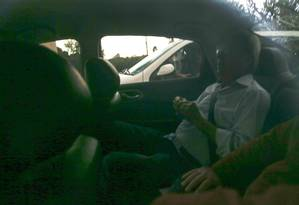 Ex-ministro José Dirceu deixa a prisão em Curitiba Foto: Geraldo Bubniak