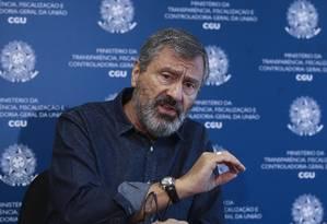 O ministro da Transparência, Fiscalização e Controladoria-Geral da União (CGU), Torquato Jardim Foto: Givaldo Barbosa / O Globo