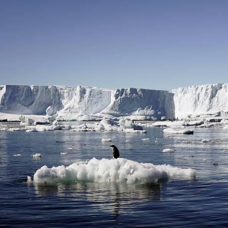 Derretimento de geleiras na Antártica preocupa ambientalistas Foto: Reuters