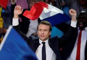 Emmanuel Macron, centrista, tem pouca experiência na vida pública, mas tem habilidades para criar equipes e fazer chegar a consensos Foto: BENOIT TESSIER / REUTERS