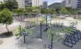 Por conta do aumento da criminalidade, moradores tem evitado a Praça Nelson Mandela, em Botafogo