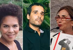 Djaimilia Pereira de Almeida, Luaty Beirão e Pilar del Río estarão na Flip Foto: Divulgação